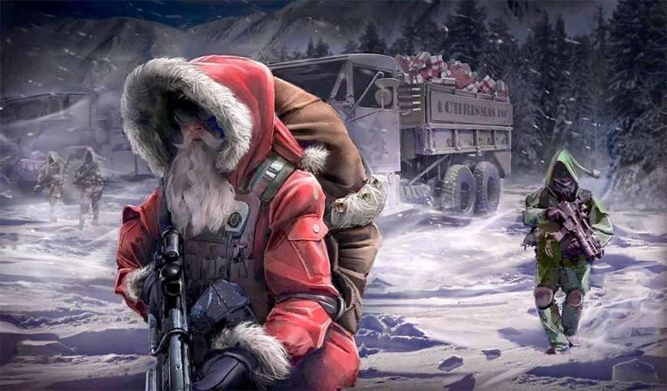 tactical santa truck